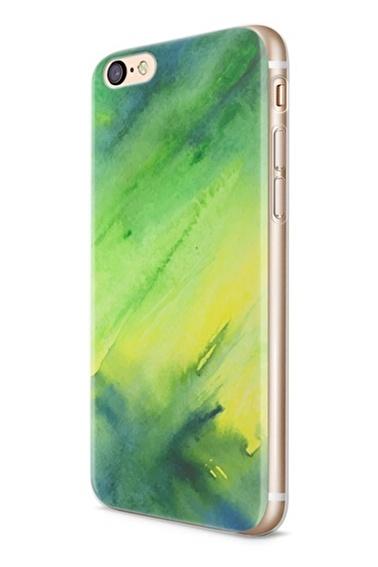 Lopard Apple İphone 6 6S Kılıf Pastel Hayaller Kapak Renkli
